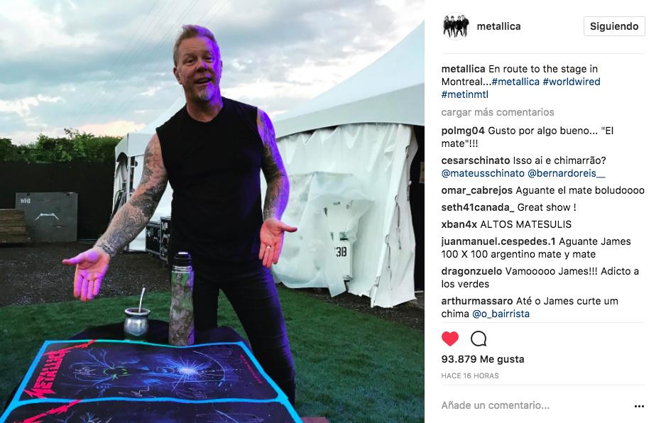 James, Metallica